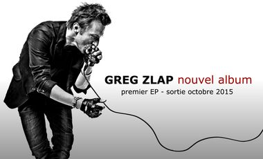 Project visual GREG ZLAP - nouvel album
