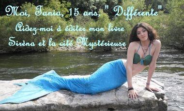 Project visual Moi Tania, 15 ans, « Différente » AIDEZ-MOI A ÉDITER MON LIVRE
