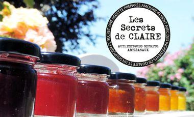 Project visual Les Secrets de CLAIRE