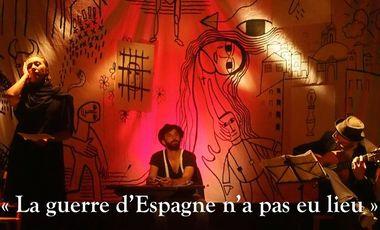 Visueel van project La Guerre d'Espagne n'a pas eu lieu - Avignon OFF 2015