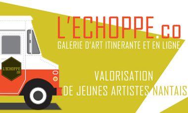 Visuel du projet L'Echoppe.co : Valorisation de jeunes artistes nantais