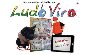 Project visual Une ANIMATION VIRTUELLE pour LudoViro, jeu de société intelligent anti-virus !