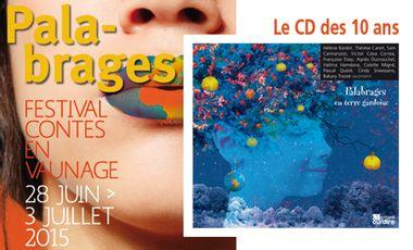 Visuel du projet Palabrages, le CD des 10 ans !