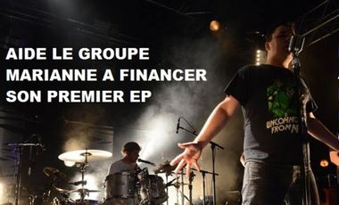 Project visual 1er EP du groupe MARIANNE (rock alternatif français)