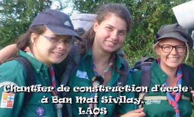Project visual Chantier de construction d'école à Ban Mai Sivilay, LAOS