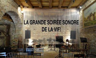 Visueel van project La grande soirée sonore de la VIF !