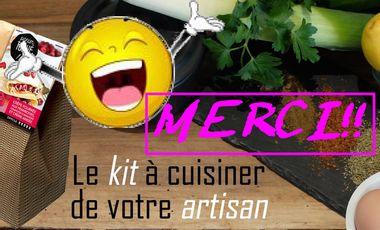Visueel van project Panier toqué: le Kit à cuisiner de votre artisan