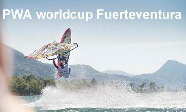 Visueel van project PWA world cup windsurf freestyle Fuerteventura