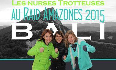 Visuel du projet Les Nurses Trotteuses au Raid Amazones 2015