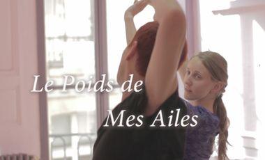 Project visual Le Poids de Mes Ailes - Théâtre