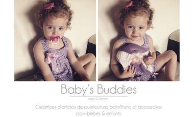Project visual Baby's buddies - puériculture et accessoires pour bébé faits main