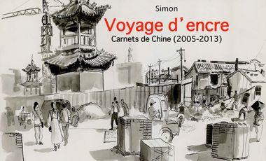 Visuel du projet Voyage d'encre (Carnets de Chine - 2005-2013)