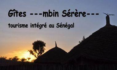 Project visual ---MBIN SÉRÈRE--- Gîtes pour un tourisme intégré et solidaire au Sénégal !
