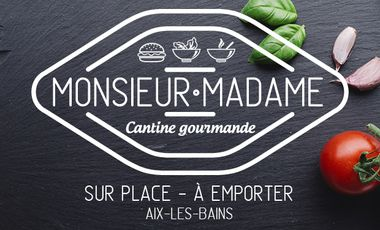 Project visual MONSIEUR MADAME - Cantine Gourmande
