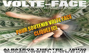 Visuel du projet Volte-Face au Festival d'Avignon !