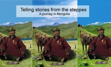 Project visual telling stories from the steppes