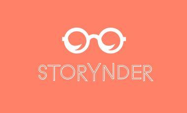 Visueel van project Storynder – une app de lecture intelligente