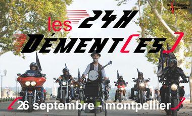 Visuel du projet Les 24h dément(es) - Montpellier