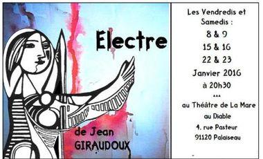 Project visual La Compagnie Caps Sur Scène joue ÉLECTRE de Giraudoux