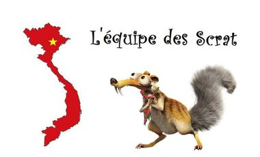 Project visual Les Scrat partent au Vietnam
