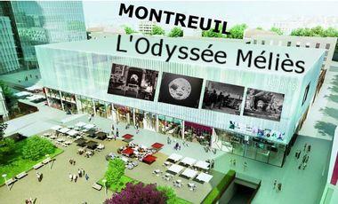 Project visual Montreuil : L'Odyssée Mélies