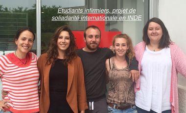 Visueel van project Etudiants Infirmiers,  projet de solidarité international en Inde