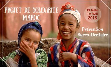 Visueel van project Projet solidarité dentaire Maroc