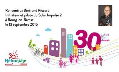 Visuel du projet Faire venir Bertrand Piccard du Solar Impulse 2 à Bourg-en-Bresse