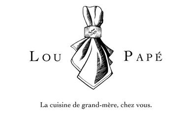 Visueel van project Lou Papé : la cuisine de grand-mère, chez vous.