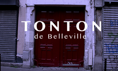 Project visual Tonton de Belleville