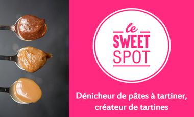 Visuel du projet Le SweetSpot, dénicheur de pâtes à tartiner et créateur de tartines
