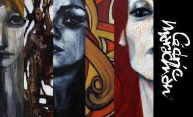 Visueel van project MéCéNAt 2.0: Peintures CéDRiC MArAChiAN