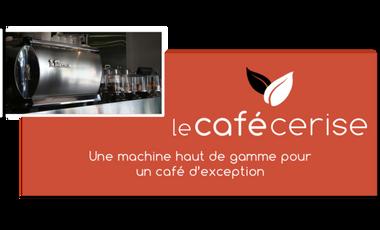 Project visual Quelle machine à café pour le Café Cerise ?