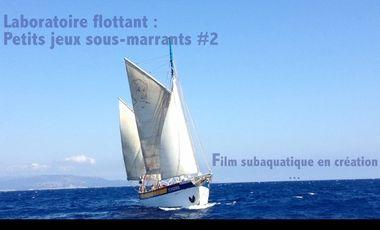 Visueel van project Petits jeux sous marins#2 - film subaquatique en création -