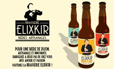 Visuel du projet Brasserie Elixkir : La bière de Dijon