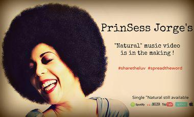 """Visuel du projet PrinSess Jorge """"Natural"""" Video Official"""