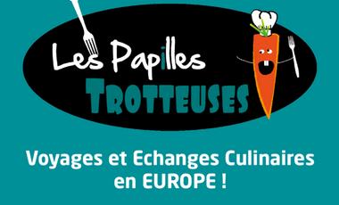 Visuel du projet Les Papilles Trotteuses en EUROPE !