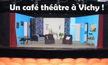 Visuel du projet Aidez à créer un café théâtre à Vichy