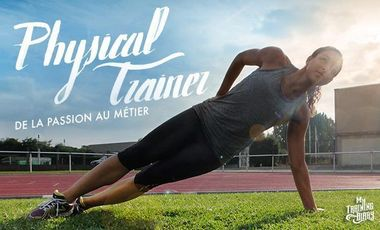 """Project visual Websérie """"Physical Trainer"""" par le blog My Training Diary"""