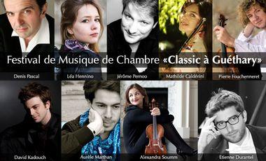 """Project visual Festival de Musique de Chambre """"Classic à Guéthary"""""""