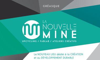 Visuel du projet LA NOUVELLE MINE 450 m2 dédiés à la création et au développement durable.
