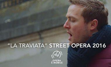 Project visual Street Opera 2016 - Opera è mobile