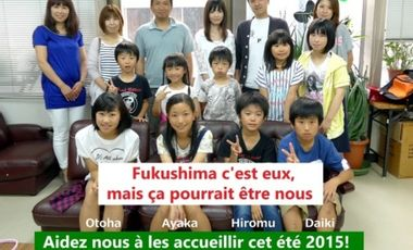 Project visual Accueil des enfants de Fukushima en France - été 2015