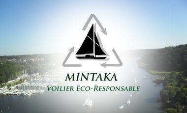 Project visual Mintaka, un voilier novateur pour un tour du monde éco-responsable.