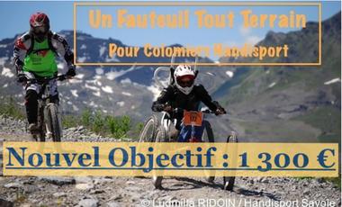 Visueel van project Un Fauteuil Tout Terrain pour Colomiers Handisport