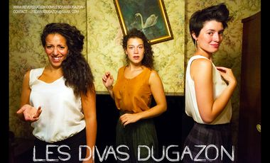 Visueel van project Les Divas Dugazon, enregistrement d'un E.P.