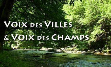 Visuel du projet Voix des Villes et Voix des Champs