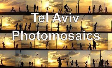 Project visual Tel Aviv Photomosaics