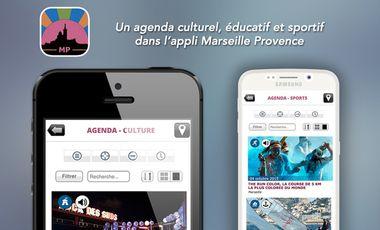 Visuel du projet Un agenda culturel, éducatif et sportif sur la région Marseille Provence