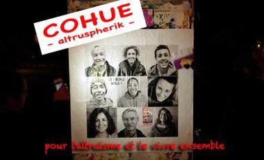 Visuel du projet Altruspherik, le magazine de l'altruisme et du vivre ensemble